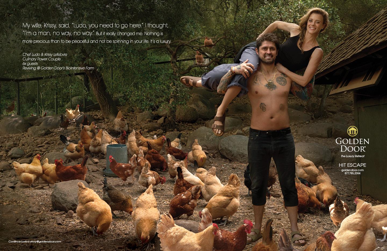 Chef Ludo & Krissy Lefebvre